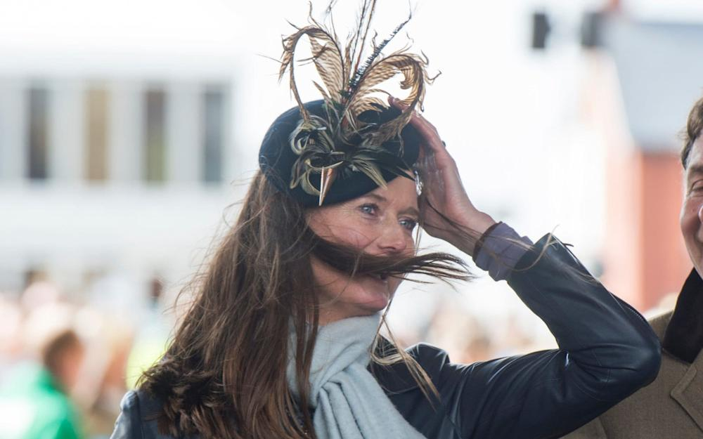 Lady in hat at Aintree 2016 - Credit: Paul Grover for the Telegraph