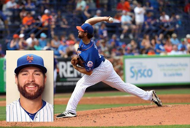 Mets minor-leaguer Logan Taylor was injured when he was attacked by a homeless man. (AP/Getty Images)