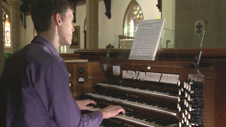 'It really just comes over you': Teen organist one of a kind at Fredericton festival