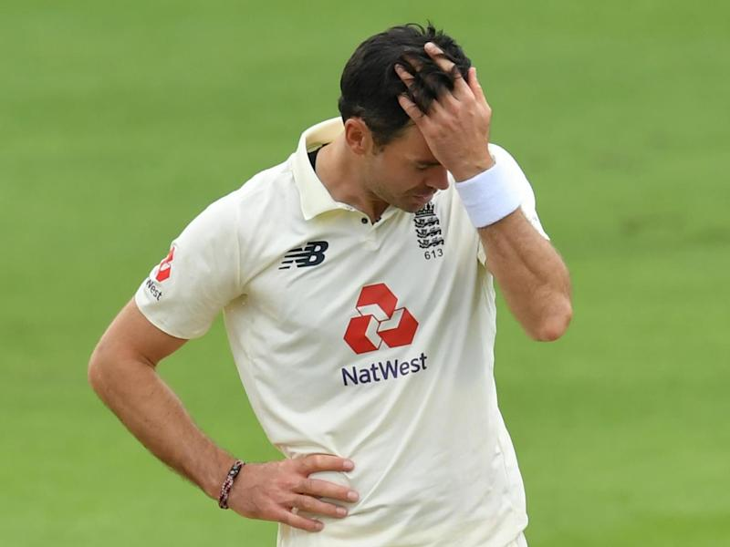 Anderson was frustrated against Pakistan: POOL/AFP