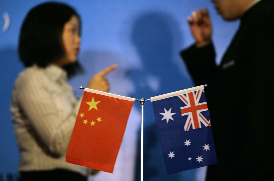 China pulled Australia out the 2020 recession. Source: REUTERS