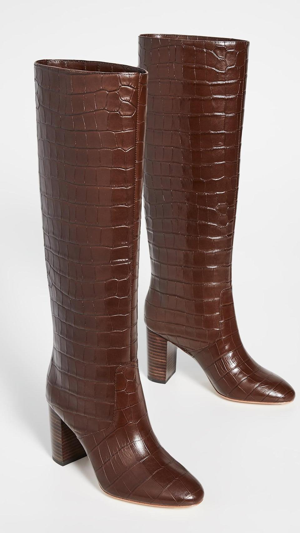 <p>Elevate any ensemble easily with these <span>Loeffler Randall Goldy Tall Boots</span> ($695).</p>