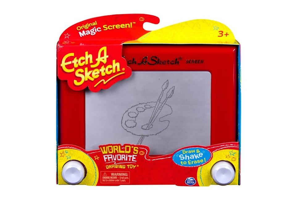 In recent years, Spin Master has sought out globally-known brands to get a foothold in international markets, like Etch A Sketch. (Spin Master)
