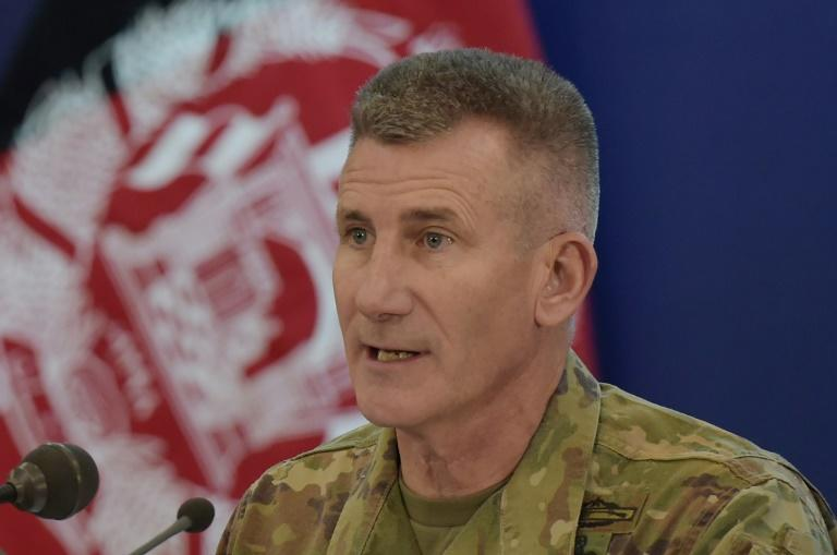 General John Nicholson says operations against Taliban drug labs are ongoing