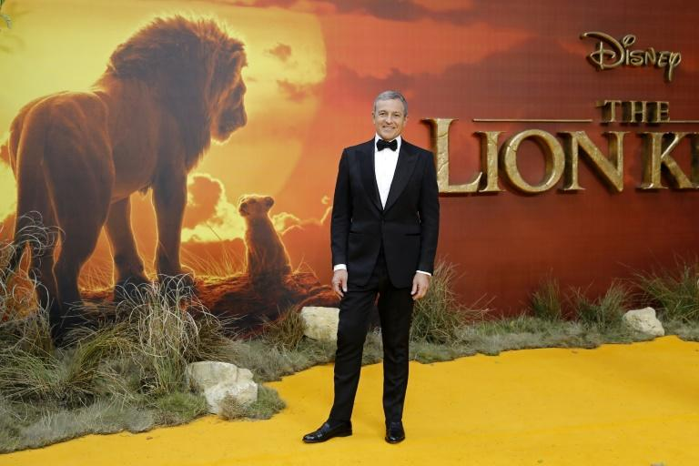 """Bob Iger, who stepped down as CEO, helped build Disney into the undisputed Hollywood box office leader with franchises like """"Lion King"""" (AFP Photo/Tolga AKMEN)"""