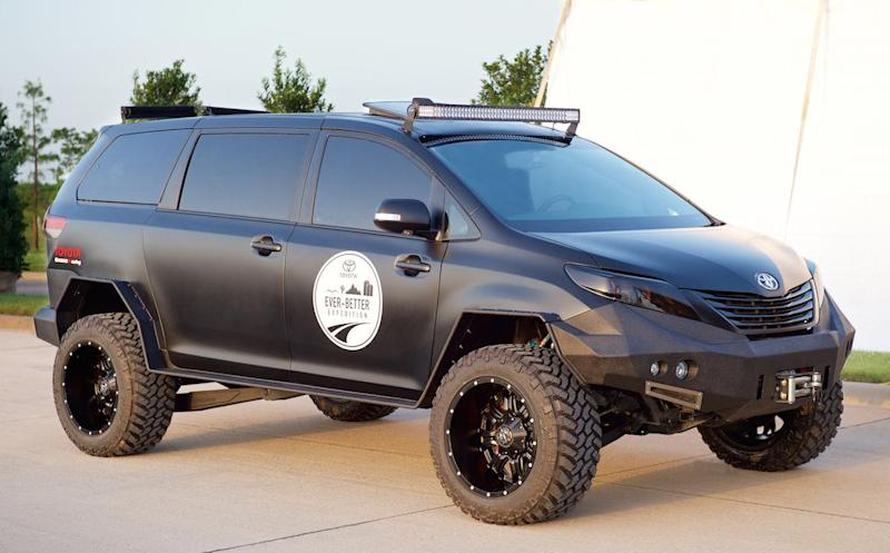 Toyota Builds An All Terrain Minivan Just Because It Can