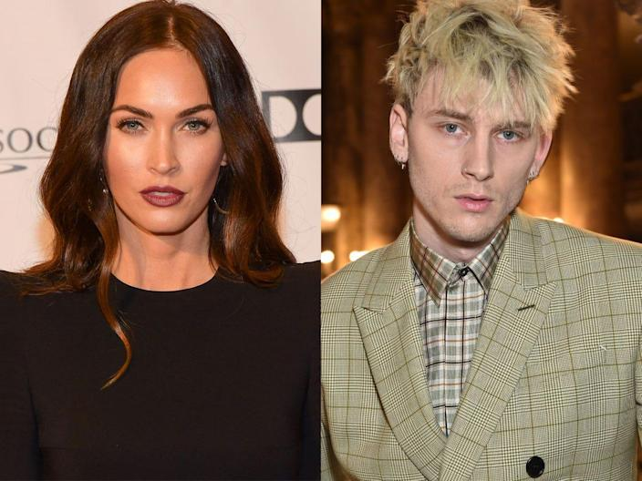 Megan Fox and Machine Gun Kelly have been spotted together around Los Angeles.
