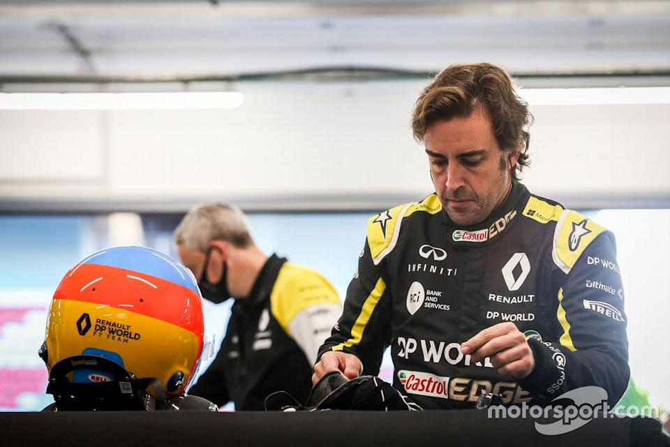 "Fernando Alonso, Renault F1 Team <span class=""copyright"">Renault </span>"