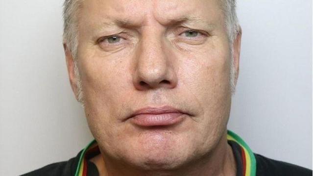 Frederick Moulton was found hanging upside down (Picture: Police)