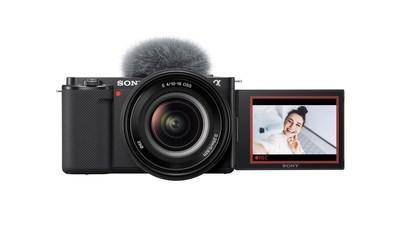 Interchangeable-Lens Vlog Camera ZV-E10 for Vloggers and Video Creators