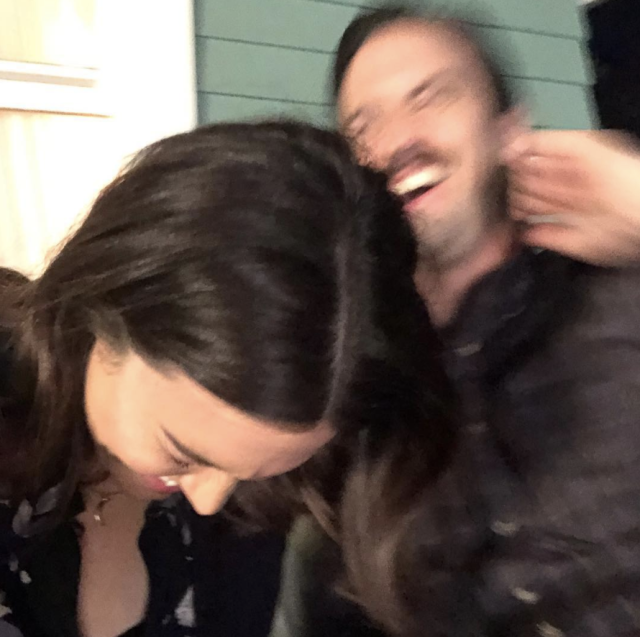 "<p>All. The. Feels. ""A little BTS shot to illustrate that we do know how to have fun on set,"" the <em>This is Us</em> star captioned this laughter-filled shot with her on-screen love Milo Ventimiglia. ""The ultimate partner in crime. There's no Rebecca without Jack. [Love] you, @miloanthonyventimiglia."" (Photo: <a href=""https://www.instagram.com/p/Be6F614Hijj/?taken-by=mandymooremm"" rel=""nofollow noopener"" target=""_blank"" data-ylk=""slk:Mandy Moore via Instagram"" class=""link rapid-noclick-resp"">Mandy Moore via Instagram</a>) </p>"
