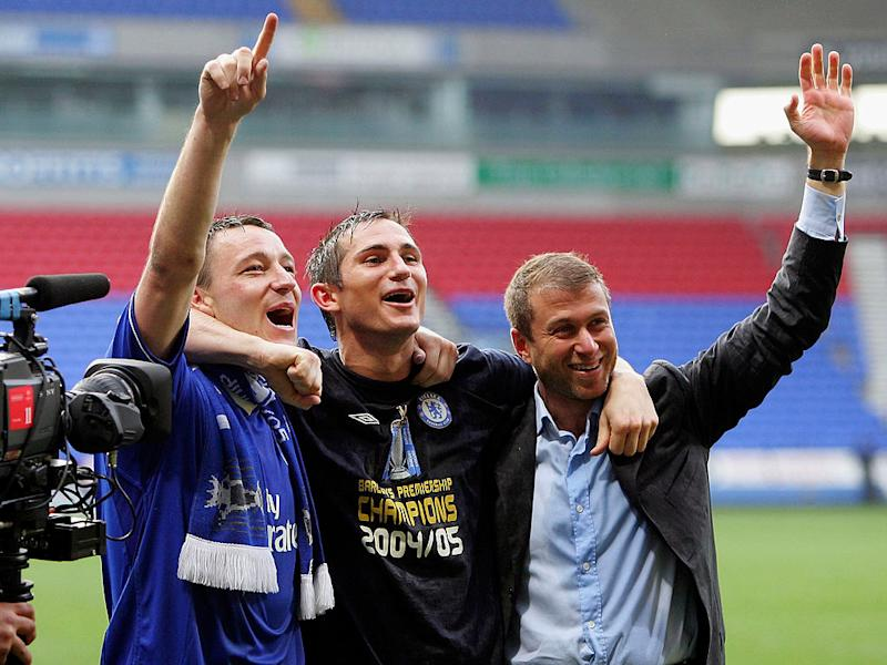 Frank Lampard is acutely aware of Abramovich's expectationsGetty