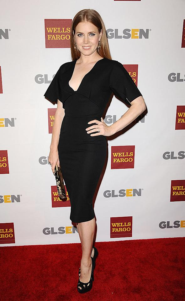 "Amy Adams in a V-neck Roland Mouret LBD at the GLSEN Respect Awards. Effortless, refined, perfection. 'nuff said. (10/5/2012)<br><br><a target=""_blank"" href=""http://omg.yahoo.com/news/justin-timberlake-owe-amy-adams-life-204500434.html"">Justin Timberlake: I Owe Amy Adams My Life</a><br><br>"