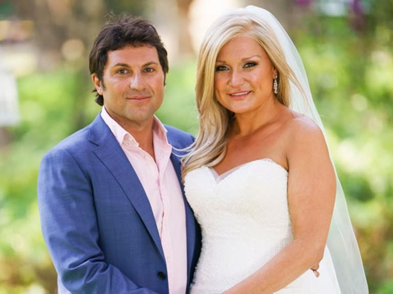 MAFS star Nasser Sultan with 'bride' Gabrielle Bartlett in 2018
