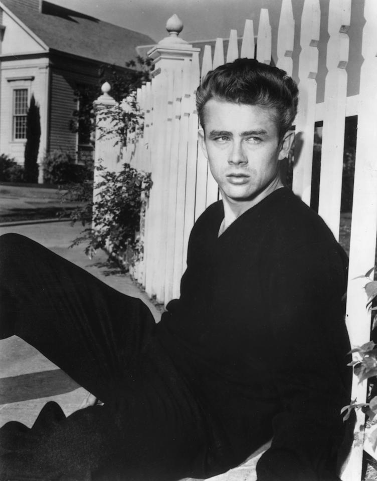 James Dean  If only this man was born in our era or well I wish I was born then. Here's a man whose looks are just so classic and who is just so handsome. I'd love to go on a date with this man and it would be absolutely okay if we didn't exchange a single word.