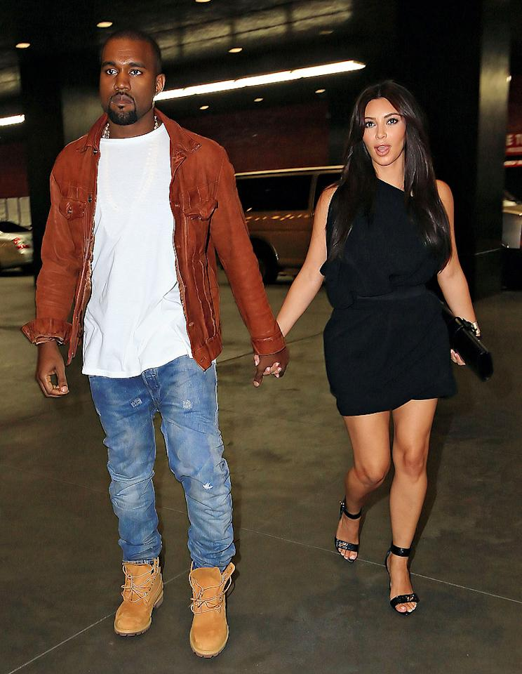 "Kim Kardashian and Kanye West are already ""talking marriage,"" reveals Us Weekly. The mag says the ""very serious"" new couple is ""on the fast track"" and ""ready to pick out rings."" For when they'll announce their engagement, and whether or not their wedding will be televised, see what a Kardashian confidante spills to <a target=""_blank"" href=""http://www.gossipcop.com/kim-kardashian-marrying-kanye-west-getting-married/"">Gossip Cop</a>."