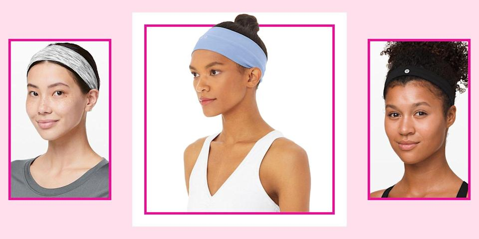 """<p>There are certain attributes every good workout headband has. They need to be snug enough to last through a four-mile jog, without giving you a headache. They need to be cute enough for a chance run-in with your gym crush. And they need to be sturdy enough to survive regular trips through the washing machine. It's a fitness trifecta that for some reason always feels impossible to achieve. </p><p>Well, lucky for you, the bands on this list have all of the above and then some (read: no-slip rubber grips). I polled my sportiest friends and dug through pages of workout gear to find <strong>the highest-rated options fitness gurus swear by</strong>. These are the best workout headbands from <a href=""""https://go.redirectingat.com?id=74968X1596630&url=http%3A%2F%2Flululemon.com%2F&sref=https%3A%2F%2Fwww.seventeen.com%2Fbeauty%2Fhair%2Fg28542058%2Fbest-workout-headbands%2F"""" rel=""""nofollow noopener"""" target=""""_blank"""" data-ylk=""""slk:Lululemon"""" class=""""link rapid-noclick-resp"""">Lululemon</a>, <a href=""""https://go.redirectingat.com?id=74968X1596630&url=https%3A%2F%2Fwww.nike.com%2F&sref=https%3A%2F%2Fwww.seventeen.com%2Fbeauty%2Fhair%2Fg28542058%2Fbest-workout-headbands%2F"""" rel=""""nofollow noopener"""" target=""""_blank"""" data-ylk=""""slk:Nike"""" class=""""link rapid-noclick-resp"""">Nike</a>, <a href=""""https://go.redirectingat.com?id=74968X1596630&url=https%3A%2F%2Fwww.thenorthface.com%2F&sref=https%3A%2F%2Fwww.seventeen.com%2Fbeauty%2Fhair%2Fg28542058%2Fbest-workout-headbands%2F"""" rel=""""nofollow noopener"""" target=""""_blank"""" data-ylk=""""slk:The North Face"""" class=""""link rapid-noclick-resp"""">The North Face</a>, and more that will keep your hair looking fierce, even when you're dripping in sweat. </p>"""