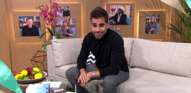 Viewers praised Dr Ranj Singh for taking an HIV test live on air. [Photo: This Morning]