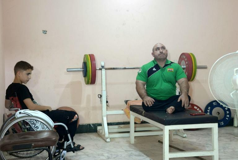 Like Ajeeli, Iraqi paralympic weightlifter Thaer al-Ali has his sights set on the 2020 Paralympic Games in Tokyo