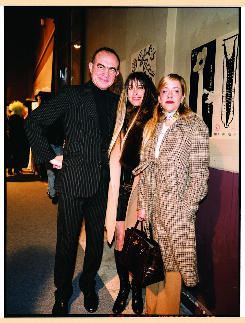 With Christian Lacroix.