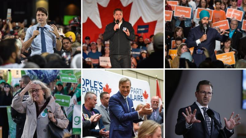 Canadians vote for the next prime minister