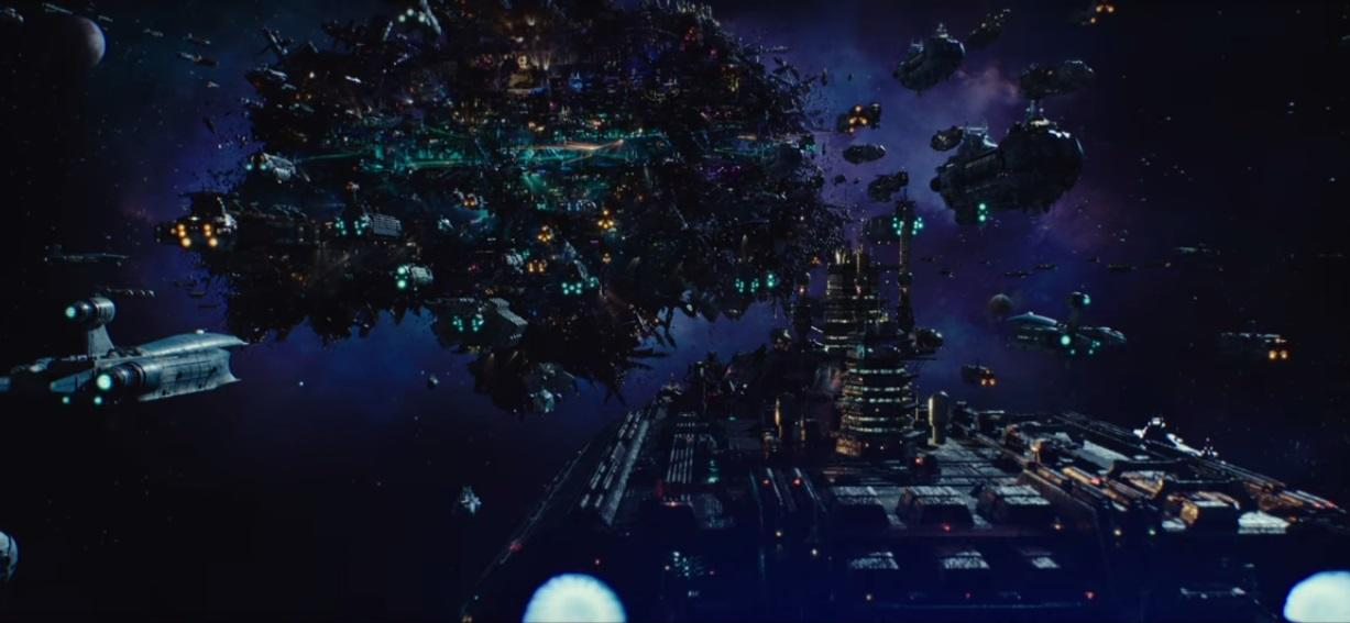 Alpha, the setting of 'Valerian and the City of a Thousand Planets' (credit: Lionsgate)
