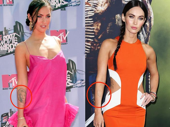 megan fox tattoos skitch