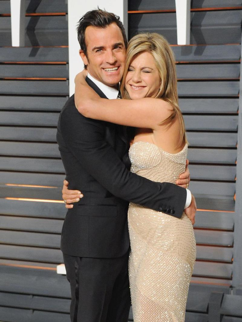 Following the announcement of their split, we take a look back on some of the time Jen and Justin (here in 2015) gushed about one another. Source: Getty