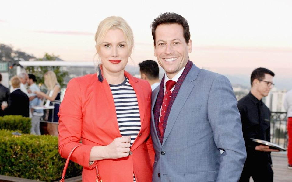 Alice Evans and Ioan Gruffudd - Stefanie Keenan/Getty