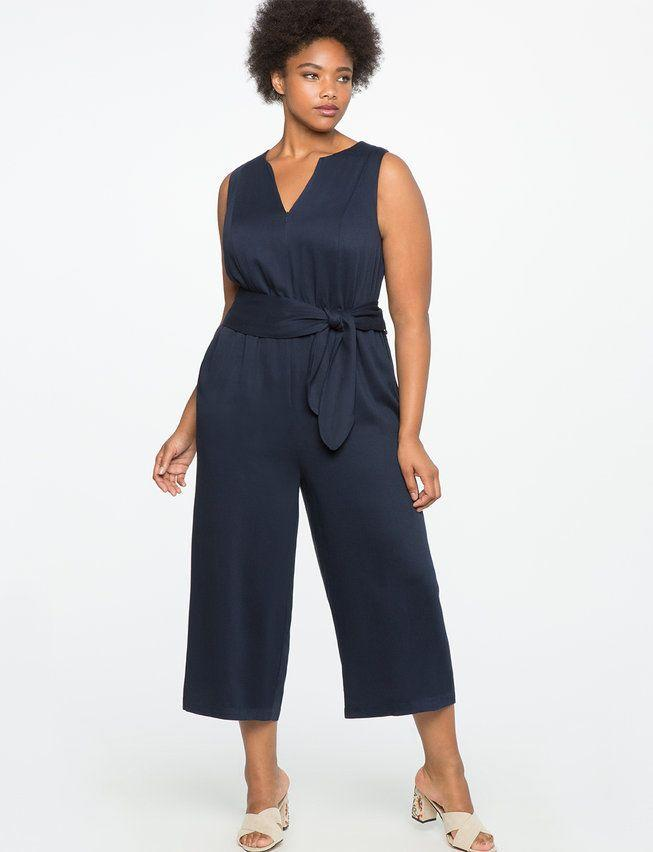 "Get it on <a href=""http://www.eloquii.com/cropped-wide-leg-jumpsuit/1324852.html?cgid=jumpsuits&dwvar_1324852_colorCode=49&start=8"" target=""_blank"">Eloquii for $120</a>."