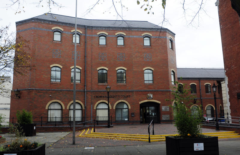 A general view of Grimsby Crown Court, Grimsby.