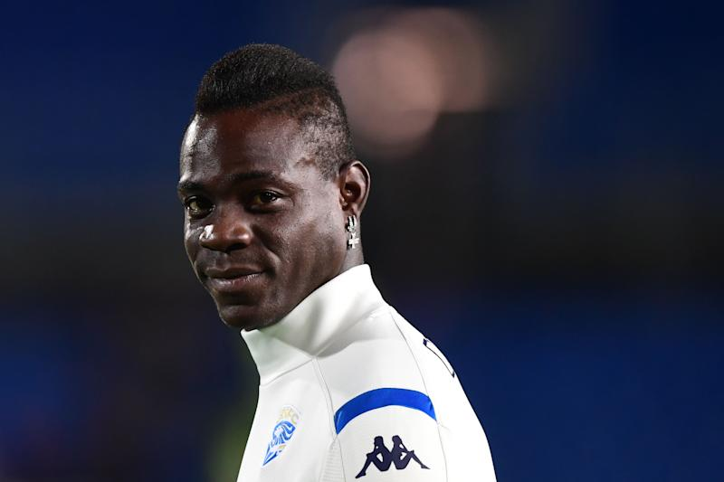 Italian forward Mario Balotelli currently plays for Brescia, his hometown. (Miguel Medina/Getty)