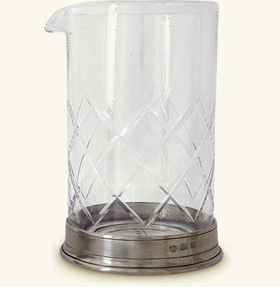 """<p><strong>Mixing Glass</strong></p><p>match1995.com</p><p><strong>$160.00</strong></p><p><a href=""""https://www.match1995.com/products/mixing-glass/bs0055"""" rel=""""nofollow noopener"""" target=""""_blank"""" data-ylk=""""slk:Shop Now"""" class=""""link rapid-noclick-resp"""">Shop Now</a></p><p>A good mixing glass is another Bemelmans Bar must-have. We're smitten with Match's pewter collection of barware, and this Italian mixing glass is as pretty as it is purposeful. </p>"""