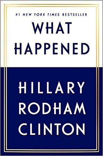 From Goodreads: &quot;For the first time, Hillary Rodham Clinton reveals what she was thinking and feeling during one of the most controversial and unpredictable presidential elections in history.&quot;&amp;nbsp;<span>Get it here</span>.&amp;nbsp;