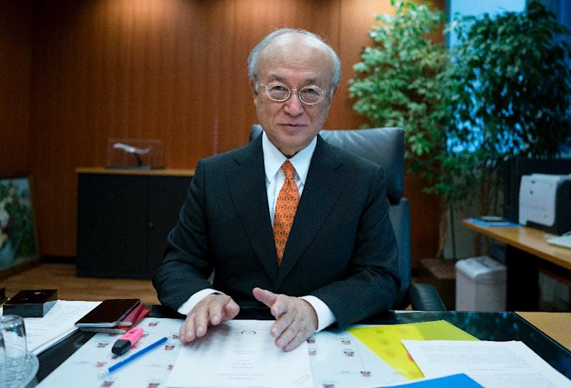 International Atomic Energy Agency (IAEA) chief Yukiya Amano says the possibility of a nuclear terror attack cannot be ruled out