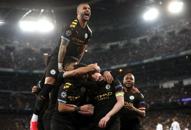 City will be able to challenge for the Champions League again next season