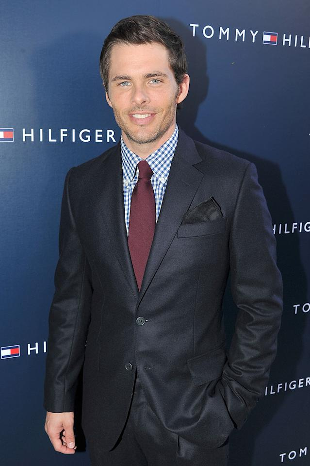 "James Marsden (""Hop"") turns 38. Theo Wargo/<a href=""http://www.wireimage.com"" target=""new"">WireImage.com</a> - September 9, 2011"