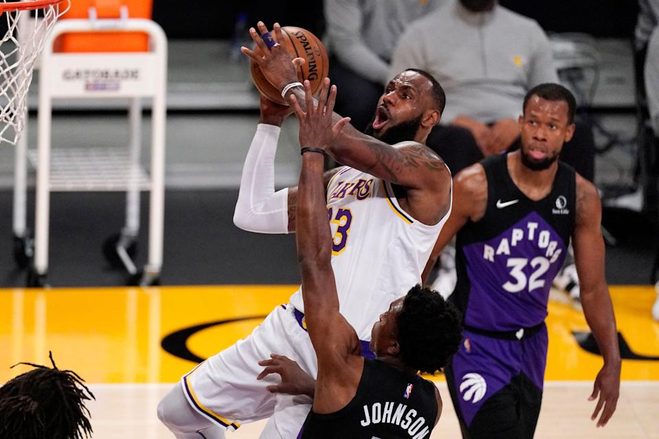 With the Lakers having to fight to avoid the No. 7 seed in the Western Conference, LeBron James became the latest critic of the format.