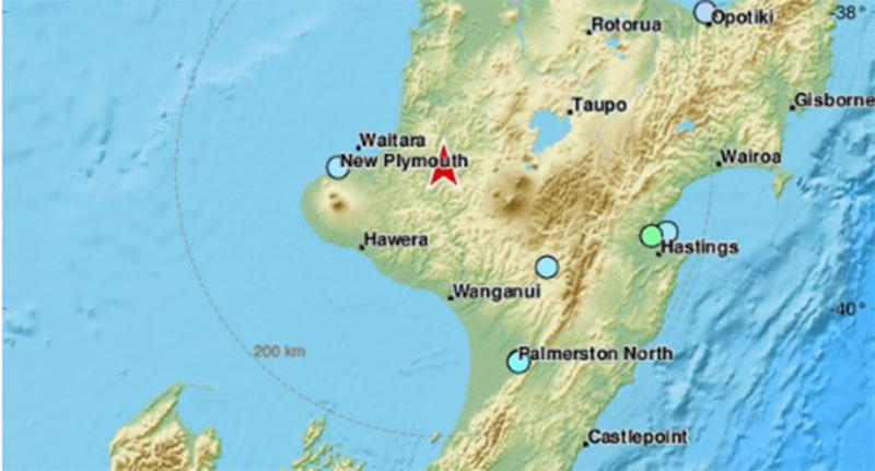 Quake felt throughout the country