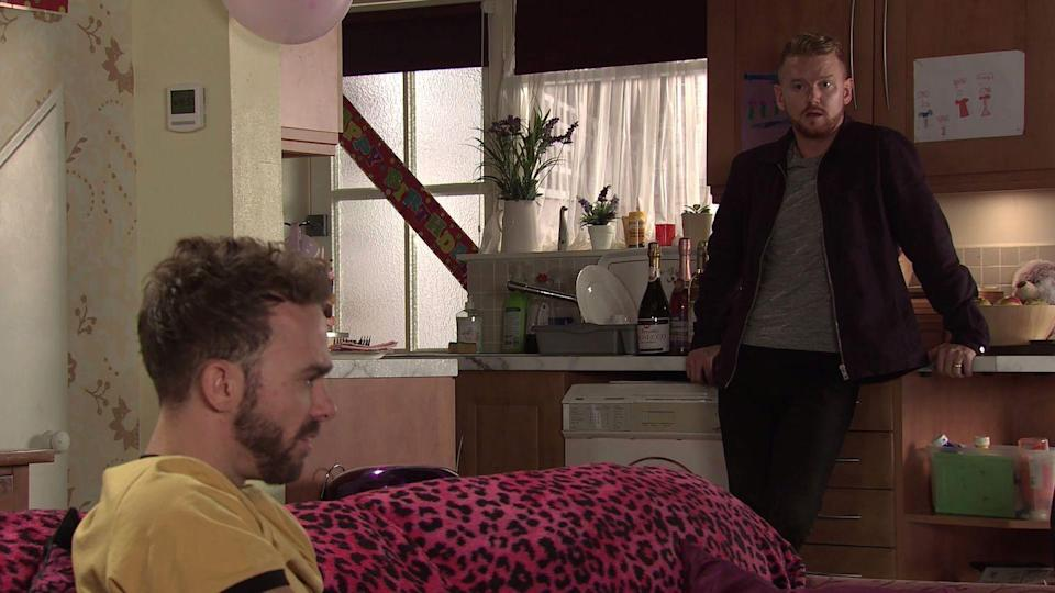 <p>He leaves Gary curious by revealing that Ray offered to buy the house. Later, Gary tells Ray to double his offer for the factory and they've got a deal. </p>
