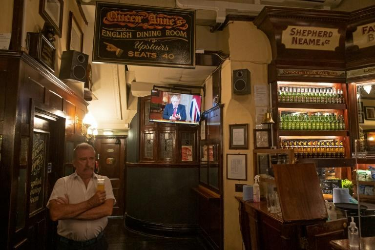 Boris Johnson has announced a shortening of pub opening hours in England and a number of other measures to try to contain a fresh virus spike