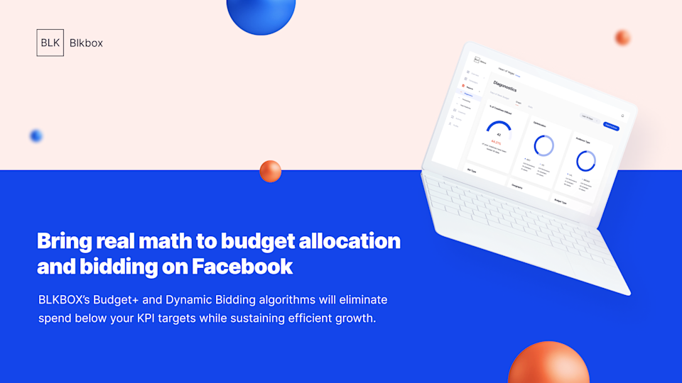 BLKBOX's advanced algorithms determine winning bids and aligns budgets against top campaigns.