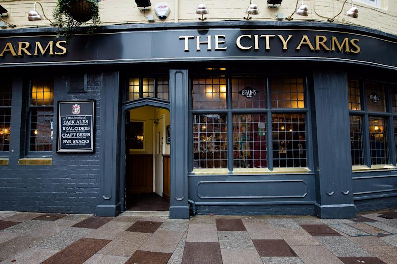 The City Arms pub in Cardiff