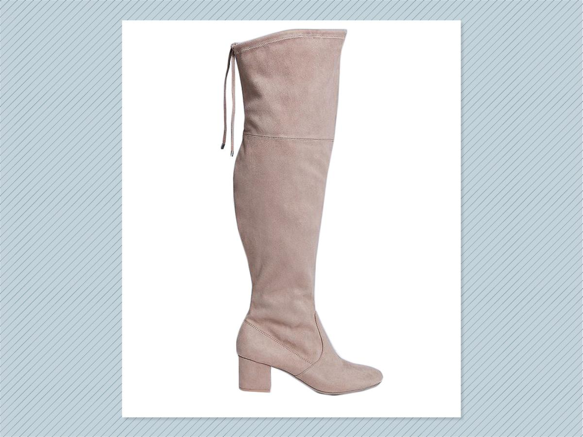"<p></p><p>Over-the-knee boot with low block heel, $90, <a rel=""nofollow"" href=""https://www.lanebryant.com/over-the-knee-boot-with-low-block-heel/prd-341151#color/0000009385"">Lane Bryant</a> (Photo: Lane Bryant) </p><p></p>"