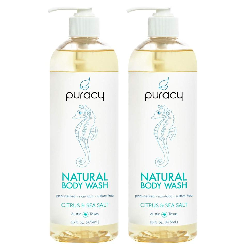 best natural soaps puracy body wash