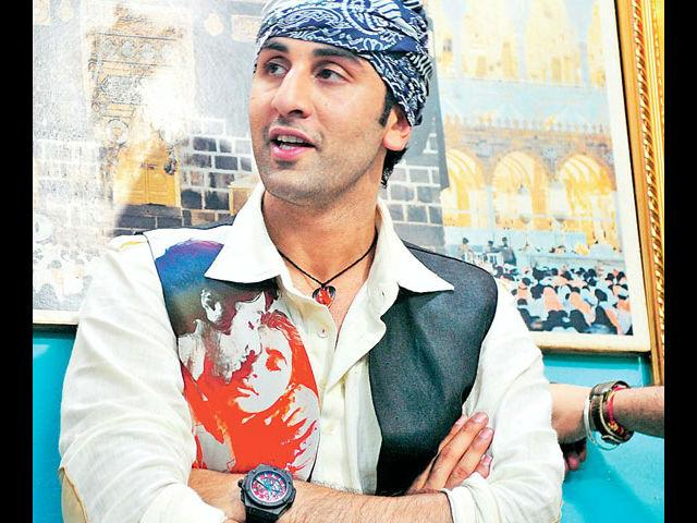 <b>3. Ranbir Kapoor</b><br>Starting his career by wearing just a towel in his first movie and wooing the girls with his good looks, Ranbir Kapoor has all a man needs to carry off almost anything in style. He wears his favourite leather jackets perfectly and we also like his witty one-liner tshirts.