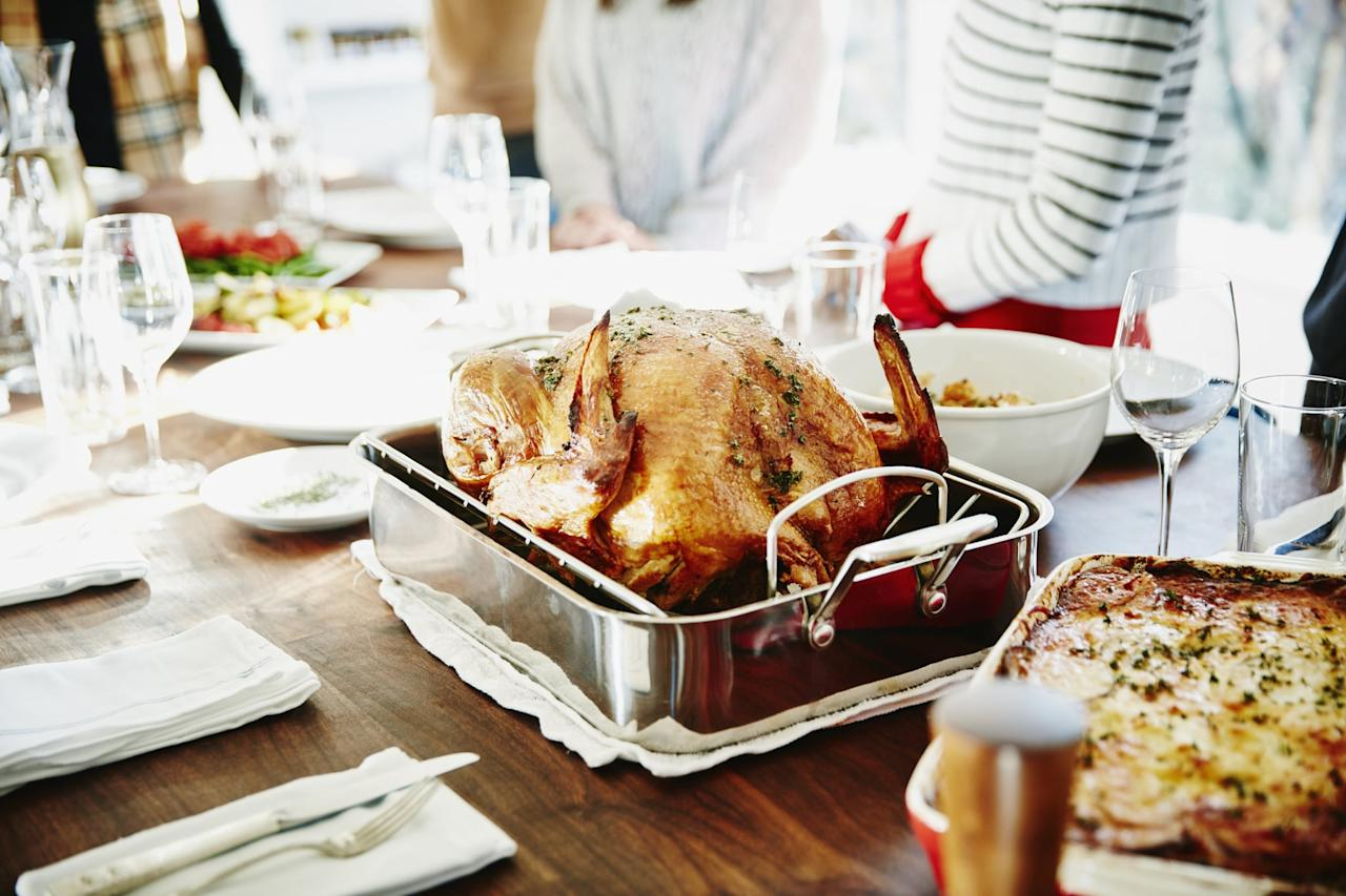 """<p>With four kids, I'm lucky if I get a chance to shower, let alone plan, shop for, and prepare an <a href=""""https://www.popsugar.com/home/Thanksgiving-Table-Setting-Ideas-From-Instagram-35963036"""" class=""""ga-track"""" data-ga-category=""""Related"""" data-ga-label=""""https://www.popsugar.com/home/Thanksgiving-Table-Setting-Ideas-From-Instagram-35963036"""" data-ga-action=""""In-Line Links"""">Instagram-worthy Thanksgiving table</a> and feast for my family and friends.</p>"""