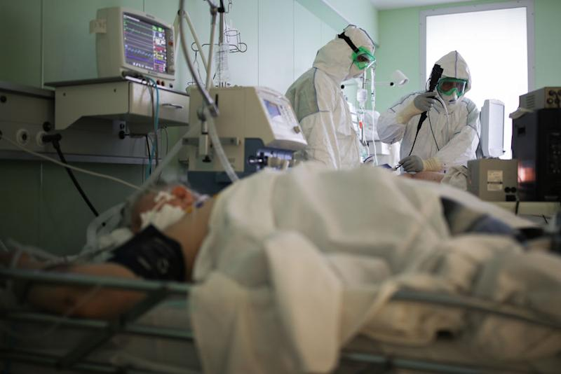 Some medical staff in Russia have spoken out over the conditions in hospitals. Source: Getty