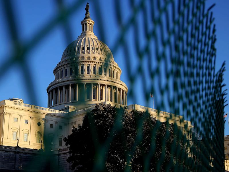 Congress struggled yet again to pass a budget bill on time: Chip Somodevilla/Getty Images