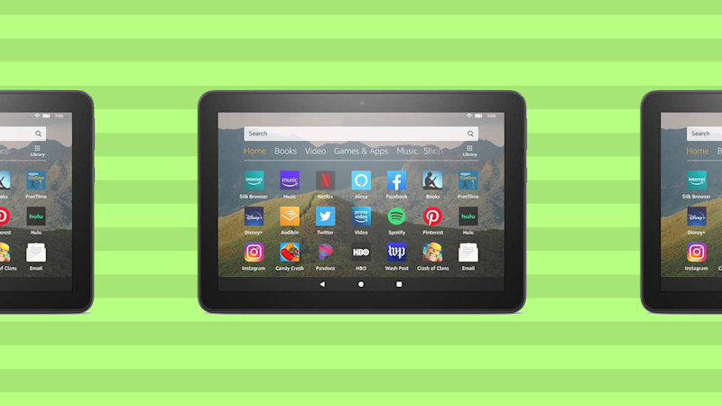 Save 33 percent on the Fire HD 8, today only. (Photo: Amazon)